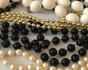 Necklace Jewelry Lot | Junk Jewelry Lot | Beaded Jewelry Lot |Vintage Bead Necklace | Vintage Jewelry Lot | Jewelry Parts | DIY Supplies