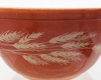 Pyrex Autumn Harvest or Wheat Mixing Bowl #402