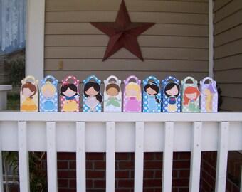 Princess Gable Favor Boxes Set of 20