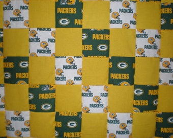 Green Bay Packers Patchwork Quilt
