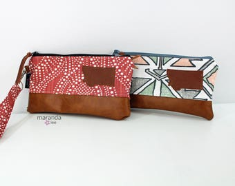 Flat Clutch - U Choose Fabric