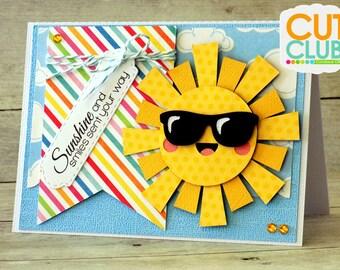 Sunshine and Smiles Sun Card
