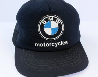 1980's BMW Motorcycles snapback trucker hat