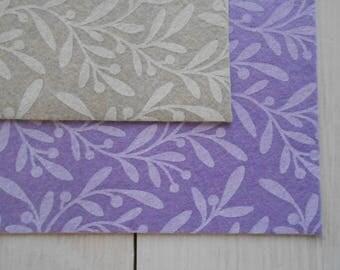 Felt Olive Picks Printed 5 Sheets