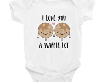 I Love You A Waffle Lot Infant Bodysuit