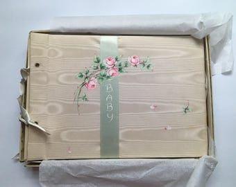 1942 baby memory book - DIY Project