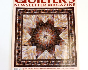 Quilters Newsletter Magazine, Vintage March 1989 No 210, Quilting Magazine for Quilt Lovers itsyourcountry