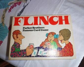 Vintage Flinch Card Game 1976 Edition Parker Brothers