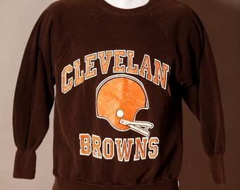 Vintage 70s 80s CLEVELAND BROWNS Sweatshirt
