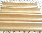 4 Vintage SCRABBLE Tile Holders - Racks - Letter Holders - Craft Supplies
