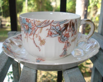 Haviland & Co. Limoges Tea Cup and Saucer