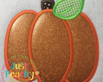 Simple Pumpkin Machine Embroidery Applique Design Buy 2 for 4! Use Coupon Code 50OFF