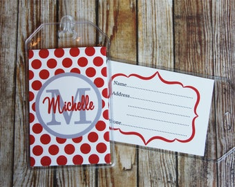 24 Colors-Luggage Tag, Monogrammed Luggage Tag, Custom Luggage Tag, Personalized Bag Tag, Backpack Tag