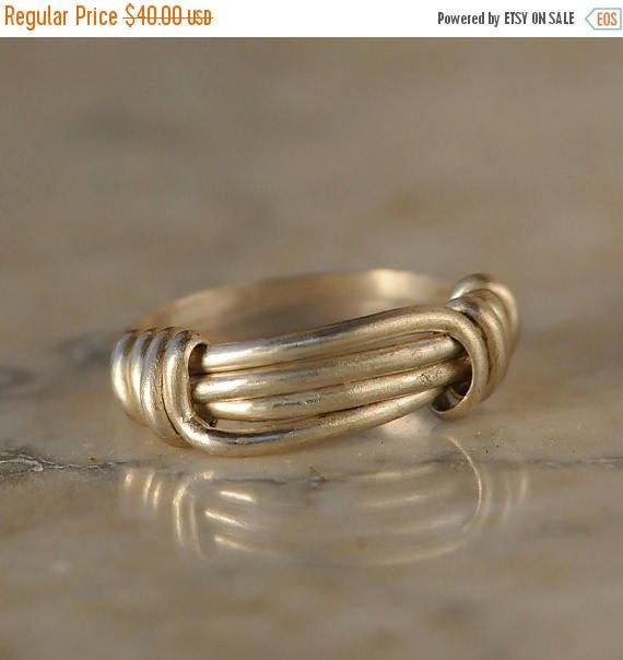 ON SALE Adjustable Sterling Silver Ring
