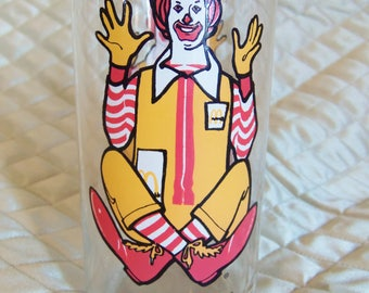 1977 Ronald McDonald Collecter Series Glass