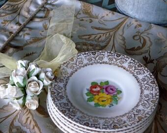 Charming Royal Omar Dalton USA China  Six Piece Saucer Set /Home and Living// Home Decor