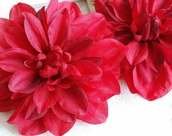 12 cm Forest Series Dahlia  Silk Flower/wedding/ Flower Wreath /Flower Bouquet /wedding /Artificial Flowers Findings (.t)