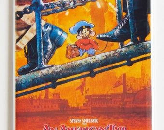 An American Tail Movie Poster Fridge Magnet