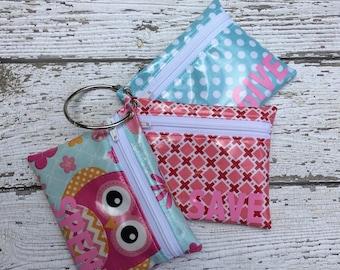 Kids Owl Cash Budgeting, Spend Save Give wallet Set