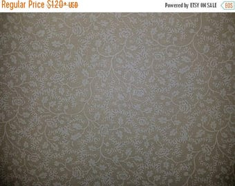 ON SALE Floral Vine Fabric, Off White, Tone on Tone, Cream Floral Fabric, Off White Floral Fabric, 01162A