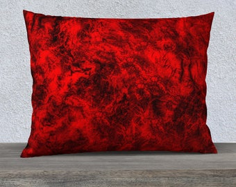 Highlight you decor with this beautiful Red throw pillow