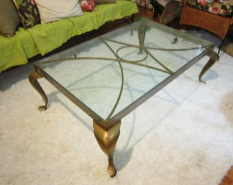 Glass Coffee Table | Etsy