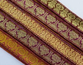Brocade Silk Ribbon, W608