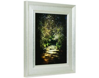 """Craig Frames, 20x27 Inch Distressed Monza Silver Picture Frame, Revival 2"""" Wide (975462027)"""