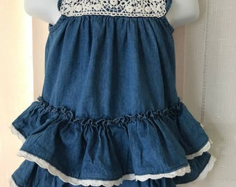 Piper & Posie Baby Dress 0-3 mos.