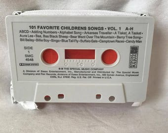 Classic Children's Songs Cassette Tape Wallet