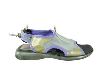 PRADA 90s Mesh Sporty Sandals