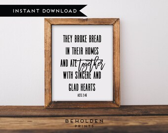 Instant Download, Scripture Printable, Faith Printable, Hospitality, Hostess, Inspirational Printable, Scripture, Quote Printable, Wall Art