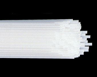 "Balloon Holder STICKS (straws) 12"" -- bundle of 12 -- use with the cups to hold foil air-filled balloons"