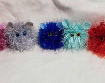Kawaii POCKET PUFF PETS friends pygmy puffs