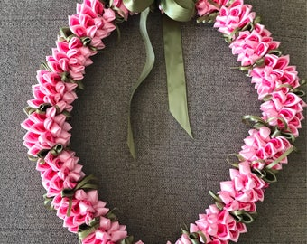 Pink Hawaiian Lei