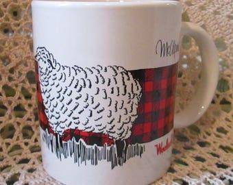 Vintage McAlpin's Woolrich Mug