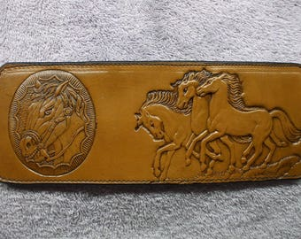 just listed, Horse wallet / billfold (210) ships same day