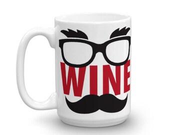 Wine In Disguise - Coffee Mug, Wine Gift, Coffee Cup, Tea Mug, Funny Coffee Mugs, Graphic Coffee Mug, Coffee Mug Gifts (2 Sizes)