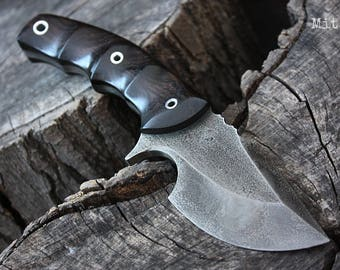 """Handmade knife FOF """"Mit"""" hunting and survival blade"""
