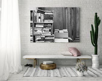 Extra large wall art, Paris photography, wall art canvas, Paris wall art, framed wall art, Paris print, canvas art, black and white, gallery