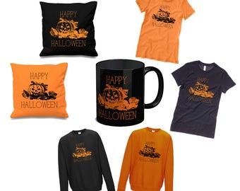 PUMPKIN Gift Bundles - Mug, T-Shirt, Jumper and Cushion Cover
