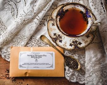 RoyalTea - Victorian Tea Blend 20 grams, Historic Hand Blended 19th Century Loose Leaf Tea