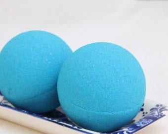Bath Bomb, Bath Fizzie, Color Bath Bombs, Blue Lagoon, Gifts for Her, Teachers Gifts, Kids Bath Bombs, Home and Living, Bath and Beauty