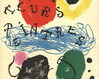 Joan Miro-Album 19, plate 17-1961 Lithograph