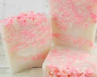 PEPPERMINT CANDY glycerin soap/vegan soap/soap bars/bar soap/handmade soap/specialty soap/natural soap/luxury soap/essential oil soap