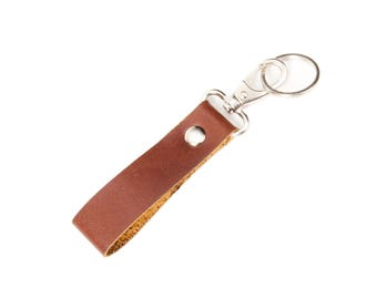 Key chain ,Key fob ,Genuine leather