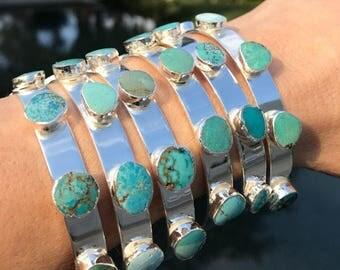Turquoise Cuff Bracelets, Turquoise Bracelets, Turquoise jewelry, birthstone jewelry, boho jewelry, boho wedding