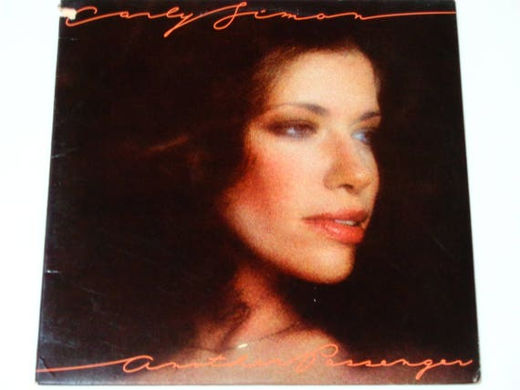 Carly Simon Another Passenger It Keeps You