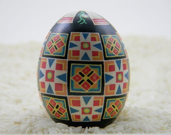 Stars and Squares Pysanky