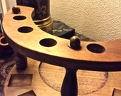 Reserved for A N ** 3 Pipe Stands Pipe Holder/Stand Walnut Decatur Industries